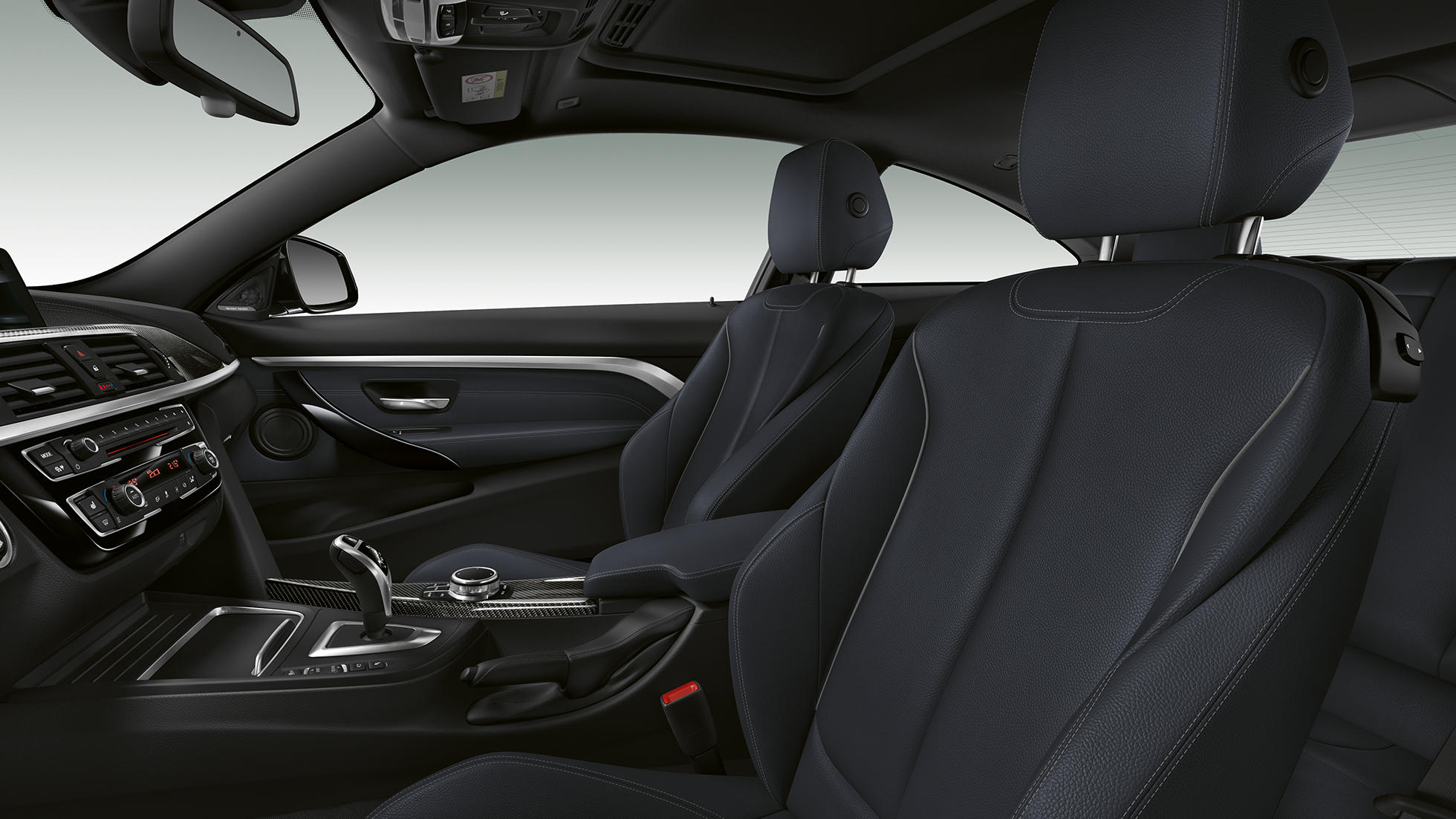 BMW 4 Series Coupé, Model M Sport interior