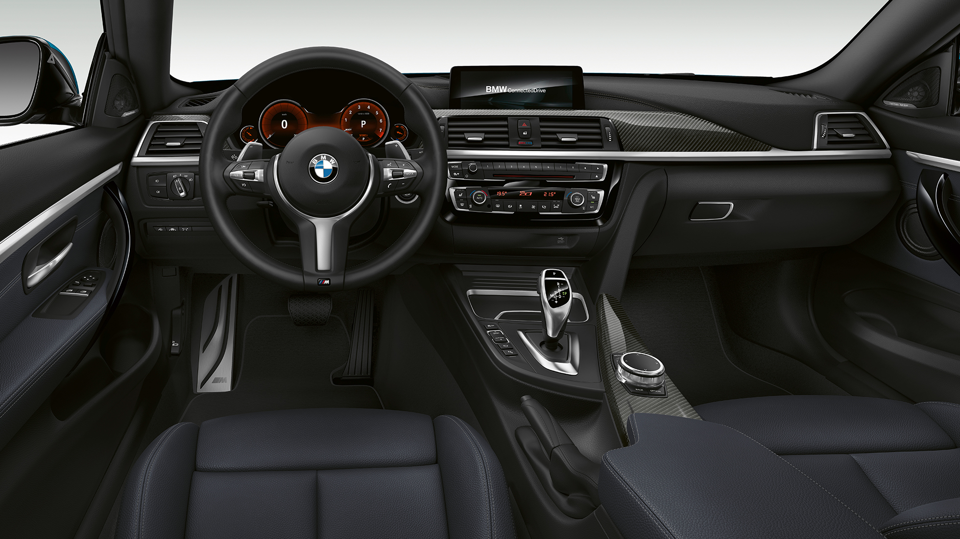 BMW 4 Series Coupé, Model M Sport cockpit