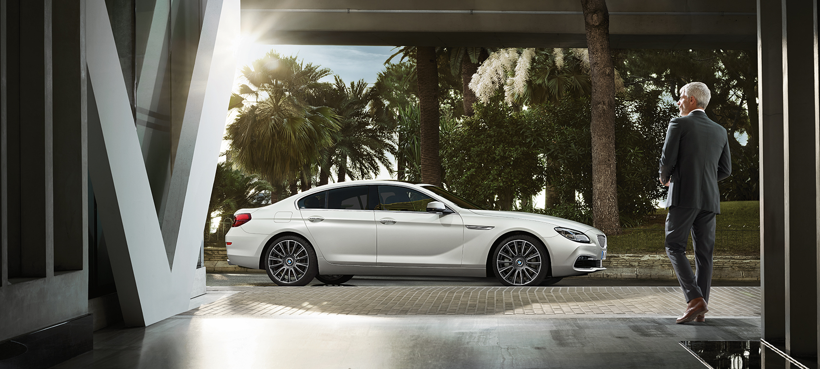 The design of the BMW 6 Series Gran Coupé