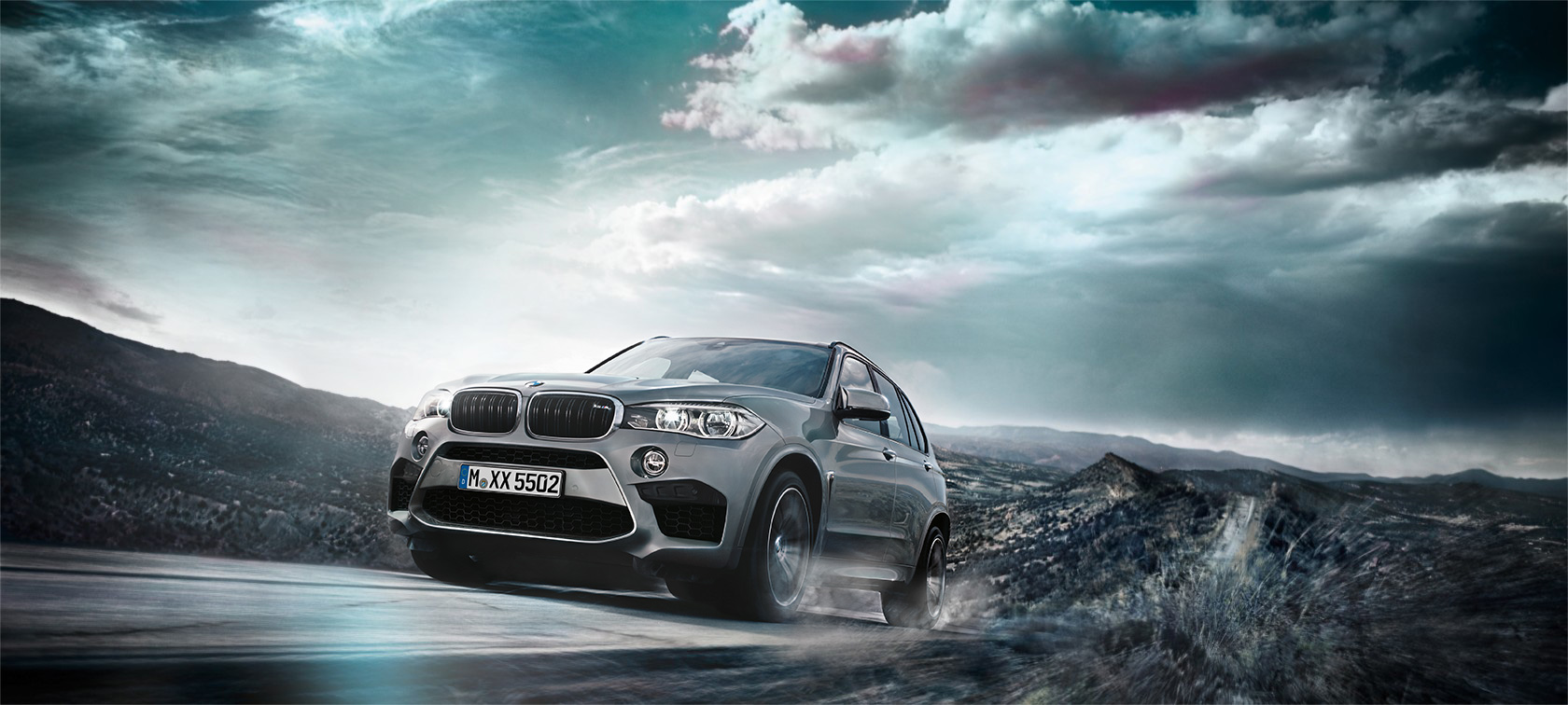 The captivating M design of the BMW X5 M